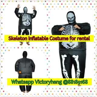 Skeleton Inflatable Costume for rental ~~~~