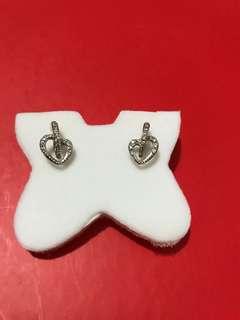 私人珍藏:白金名牌 MyJ碎鑽耳環