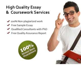 College/University Essay & Assignment Service