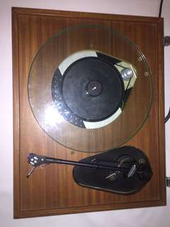 Vintage Record Player Systemdek 8 Linn Basik LV X Japanese arm Shure Stylus
