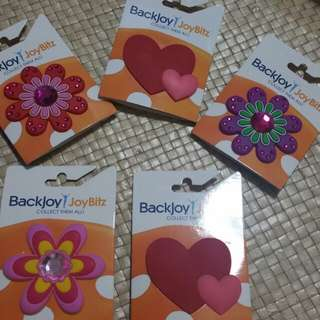 Back joy charms Joybitz hello kitty