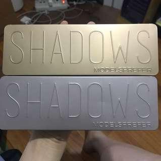 Models Prefer Eyeshadow Palettes