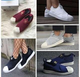 Adidas slip on for bos sis premium Quality 100%%%