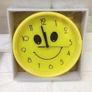 "Smiley Face Clock (8""size)"