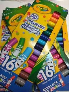 16 washable markers
