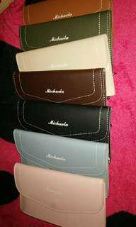 Sale! michaela wallet with coins, bills , cards compartment