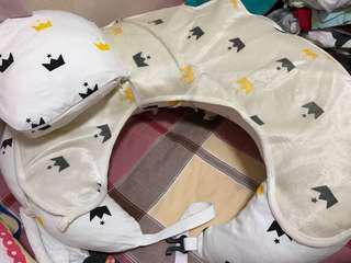 餵奶枕 連枕頭仔同涼墊