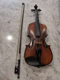 Violin 1/4 quarter size suits 6-9yrs old with brand new case