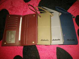 Sale! Mikaela wallet with card holder, coins, bills compartment.