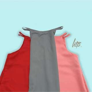 HTP Collection Light Pink Halter Dress