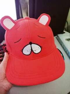 Comic Alley UMARU CHAN Hamster Paprika Orange Snapback Cap