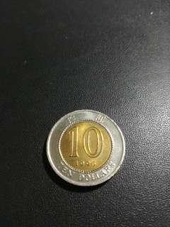 1996錯體中間黄色移位$10(1)