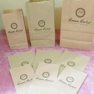 Personalized Brown Paper Bags for your souvenirs and business needs