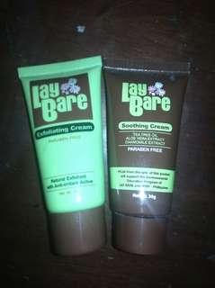 Lay Bare Exfoliating and Soothing Cream