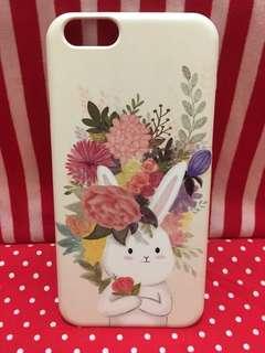 韓國正版Tongnamu 可愛兔仔iphone6手機殻