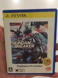 🚚 Gundam Breaker PSVITA