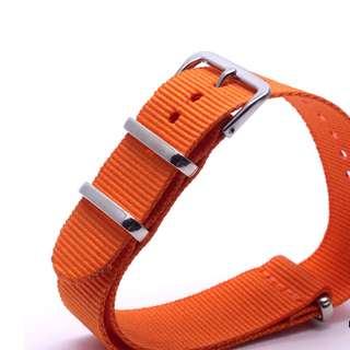 16mm NATO Watch Strap (Single Loop)