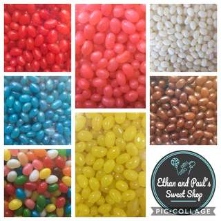 Jelly Beans Candy 2.5KG (Mixed/One Color) - Party Size