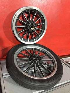 Harley Davidson OEM wheel set