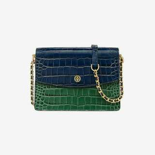 TORYBURCH parker embossed convertible shoulder bag
