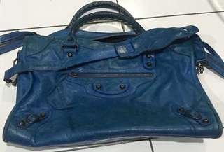 Balenciaga city Blue