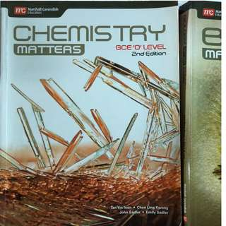 2ND EDITION CHEMISTRY MATTERS TEXTBOOK