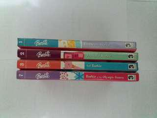 Barbie Book Series (Book 1, 2, 3, 7)