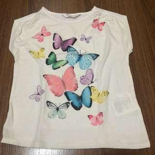 H&M Butterfly Shirt