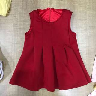 6-12m baby red cny Christmas