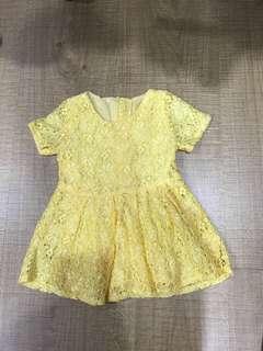 Baby 6-12m yellow Christmas cny