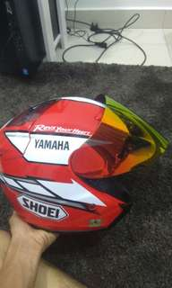 Helmet Shoei Yamaha Factory