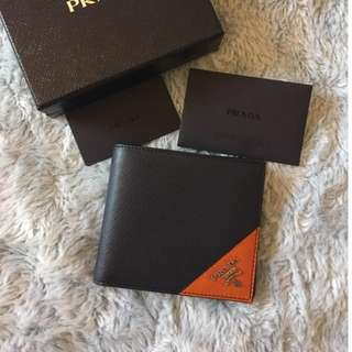 Prada man wallet 男裝銀包