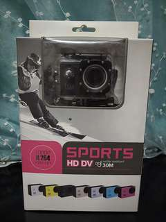 Sport Action Camera HD 720p (New)