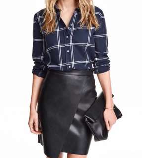 H&M Flannel - Navy