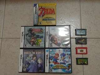 DS + GBA GAMES
