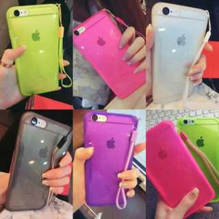 Neon Color Jelly Case