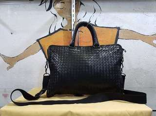 Authentic Bottega veneta document bag