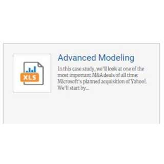 Breaking Into Wall Street (BIWS) - Advanced Modelling course