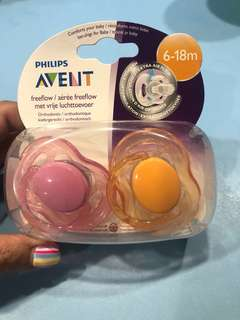 🚚 Avent Freeflow Soother/ Pacifier (6-18m)