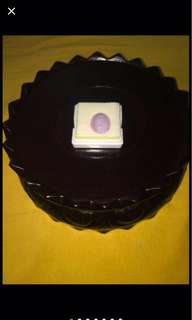 {FS138} 全紫紫罗兰翡翠玉 Jewellery Grade Purple Jadeite Ring Stone
