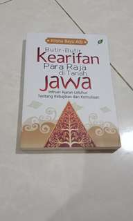 Butir-butir kearifan para raja di tanah Jawa