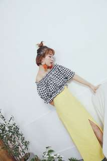🚚 韓國超可愛平口上衣
