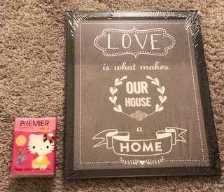 Love makes a Home picture frame