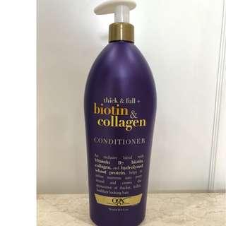 🚚 OGX Thick & Full Biotin & Collagen Conditioner 750ml