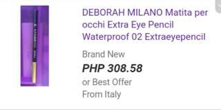 Waterproof Eye pencil ( 3 for 500)