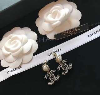 Chanel耳環有盒
