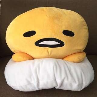 🚚 全新日本帶回57cm蛋黃哥玩偶 娃娃 抱枕