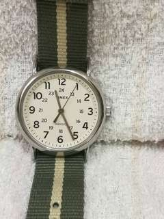 Timex Unisex Indiglo Weekender