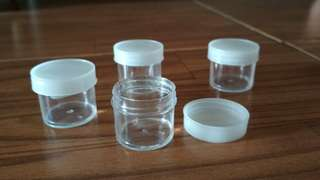 Pot cream / mini jar / pot urine 10 ml