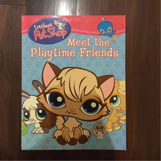 Littlest Pet Shop: Playtime Friends: Book